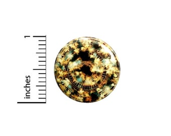 Steampunk Button // Fire Space Time Travel Sci Fi Pinback // Geeky Awesome Pin 1 Inch 6-8