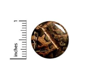 Steampunk Gears Button Pin // Victorian Pinback // Pin 1 Inch 5-5