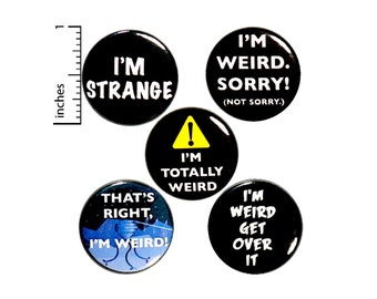 Backpack Pins - Funny