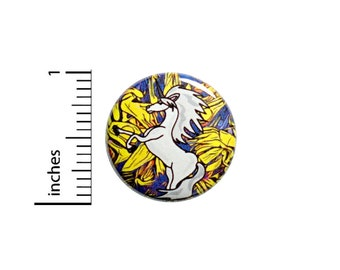 Unicorn Button Cool Backpack Pin 1 Inch #83-3