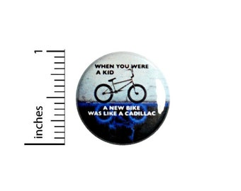 When You Were A Kid Fan Button // Backpack or Jacket Pinback // Nerdy Geeky Cool Pin 1 Inch 6-13