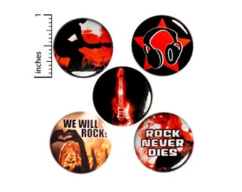 Music Backpack Pins