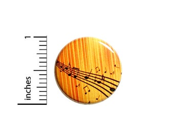 """Music Notes Button, Pin or Fridge Magnet, Music Pin, Backpack Pin, Little Gift, Music Note Button, Music Gift, Button or Magnet, 1"""" 85-30"""