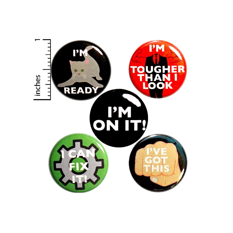 socially awkward button pin 1.25 badge fridge magnet really good at misinterpreting social cues