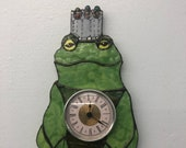 Someday My Prince Will Come (frog prince) wall clock