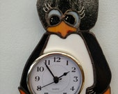 Super Cute Penguin Clock