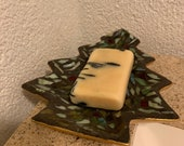 Cute Christmas tree soap dish