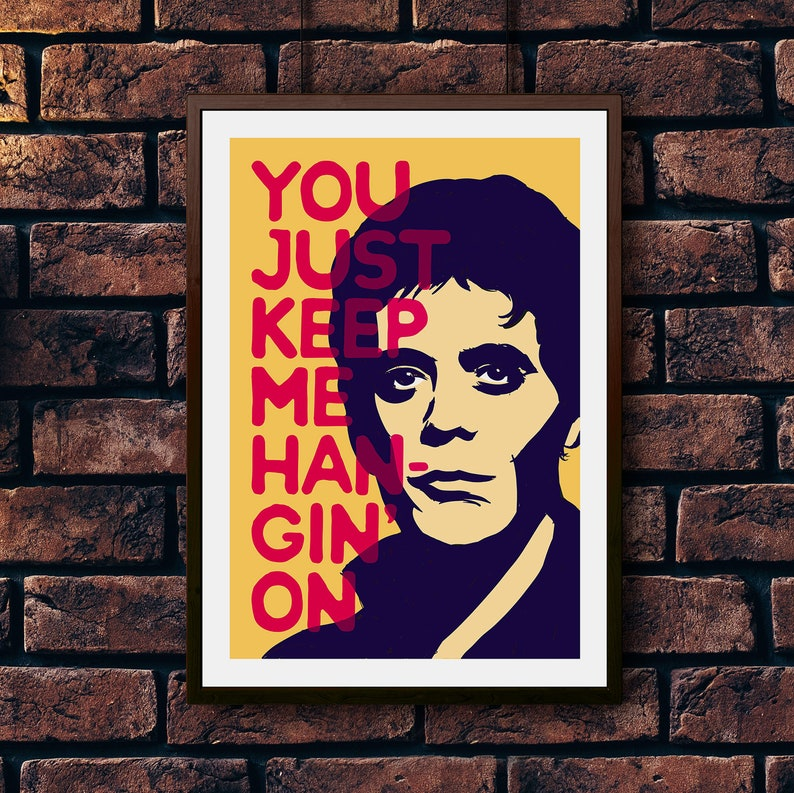 Lou Reed // Perfect Day // Velvet Underground & Nico Inspired Music Art  Print