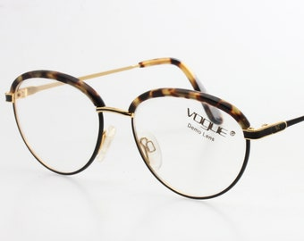 5c4a7c2a1b Vintage oval preppy eyeglasses frames