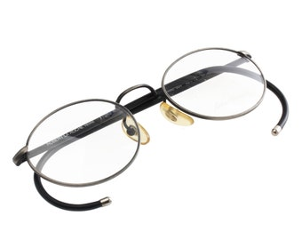 bed2e4df202 Robert la Roche vintage thin eyeglasses frame with cable temples