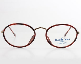 34c29755736 Enrico Coveri vintage round preppy black cello eyeglasses