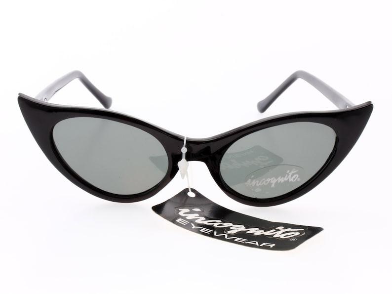 e0f5ca6c13 INCOGNITO vintage pin-up de goth noir Lunettes de soleil | Etsy