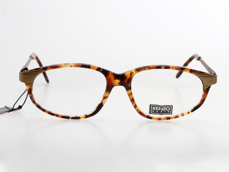 839a0f9addb1 Kenzo vintage oval / cateye ladies tortoise cello eyeglasses | Etsy