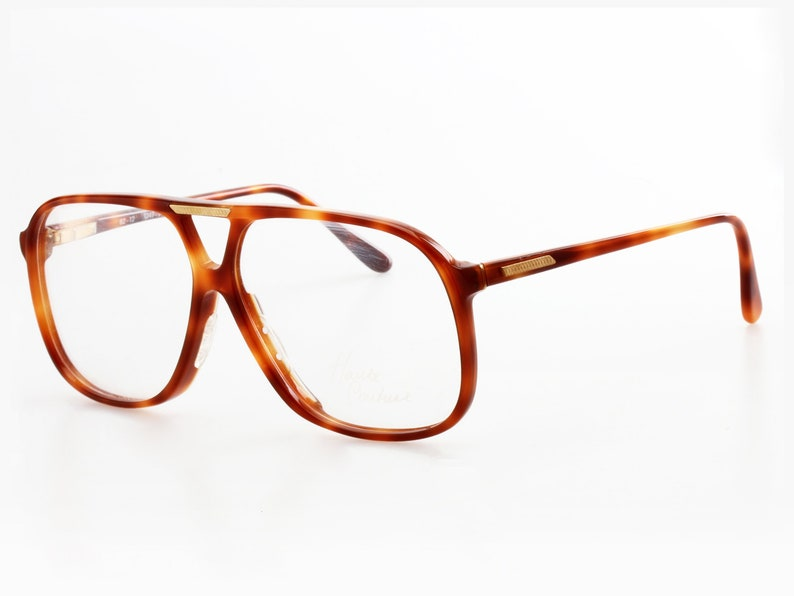 672616dbe3f1 Vintage celluloid aviator eyeglasses with double bridge made