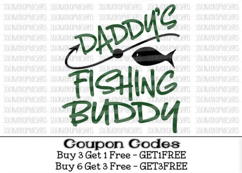 Daddy S Fishing Buddy Svg Father S Day Svg Png Boy Etsy
