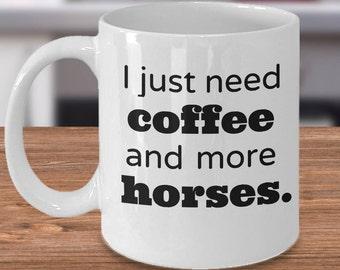 Horse Lover Gift, Horse Gift Mug, Horse Owner Cup, Equestrian Coffee Mug, Horse Themed Coffee Mug, Horse Gift for Her, Horse Lover Cup