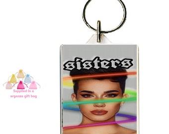 1 Pair Of Earrings Meme Earrings-Letterbox Gift Handmade Dangle James Charles Earrings Gift- Flashback Mary Stud James Charles