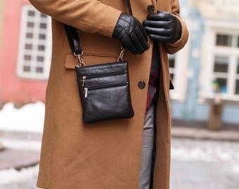 Messenger Leather messenger Messenger bag Leather bag Leather messenger bag Black messenger Leather shoulder bag Leather crossbody bag  (30)
