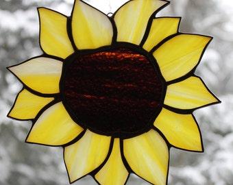 Large Sunflower Suncatcher