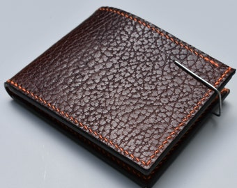 Kangaroo Leather Mens Wallet / Kangaroo Wallet / Durable Wallet / Handcrafted Wallet / Kangaroo Bifold Wallet / Ready to Ship
