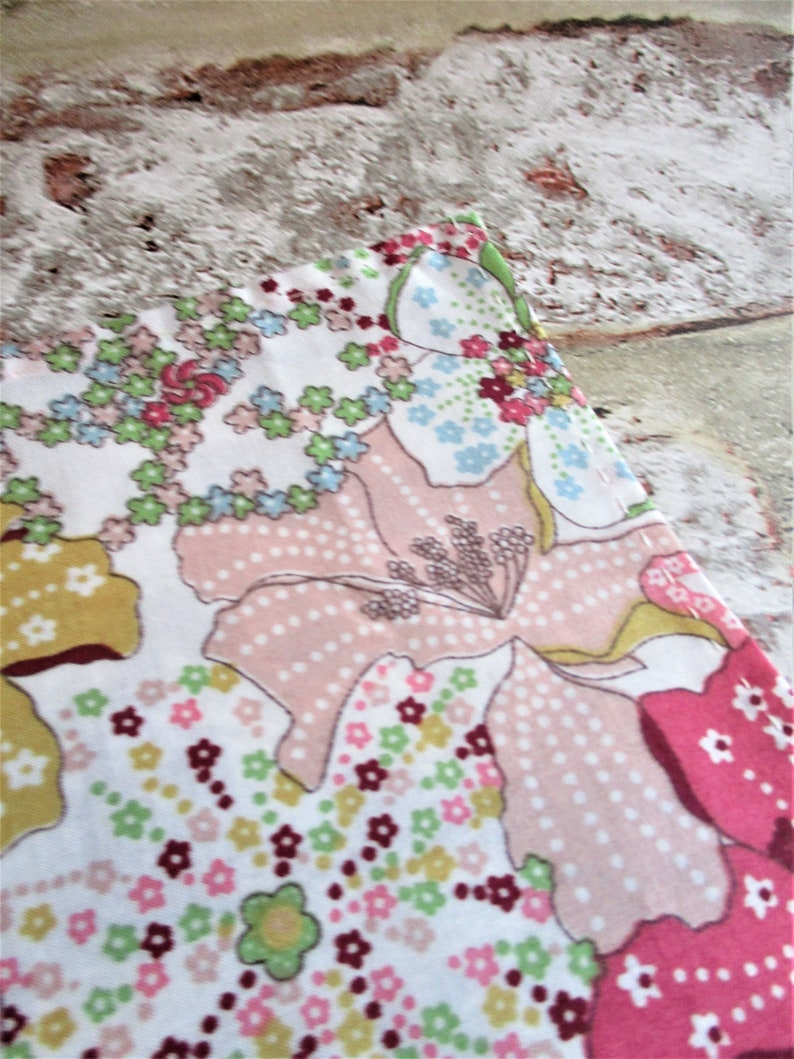 Liberty fabric pocket square  handmade 28cm approx shades image 0