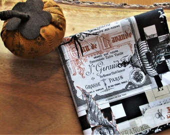 Halloween Pocket Square - 100% cotton, steampunk gift, Halloween gift, gift for him