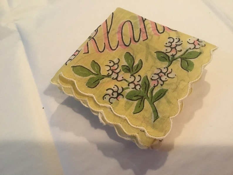 Vintage Handkerchief  Franshaw Oklahoma\u201d