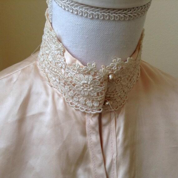 Vintage Silk Robe / Jessica McClintock