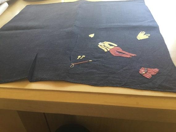 Vintage Handkerchief Set / 1930s Fashion / Hand A… - image 2