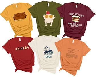 Group Friends Thanksgiving Shirt   Friendsgiving Shirts   Holiday Dancing Turkey Trifle Moistmaker Fall TShirts   Funny Adults Youth Toddler