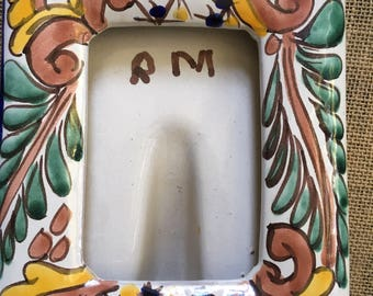 Hand Painted Mexican Frame