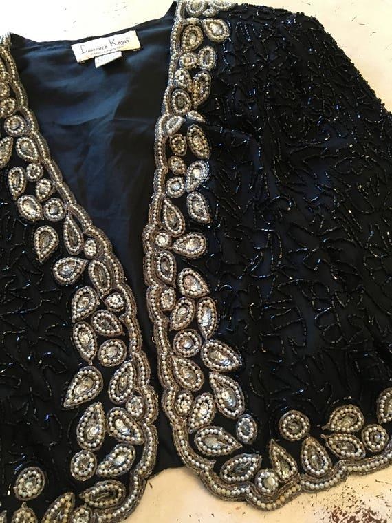 Vintage Beaded & Sequined Jacket, Vintage Clothing