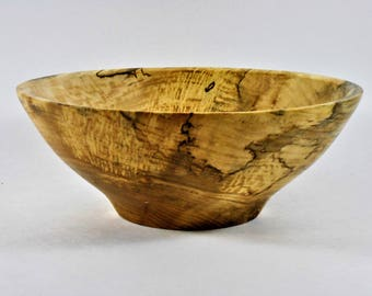 Bowl of spalted maple