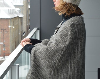 Woman wool Cape