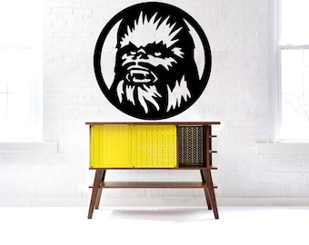 Chewie decal | Etsy
