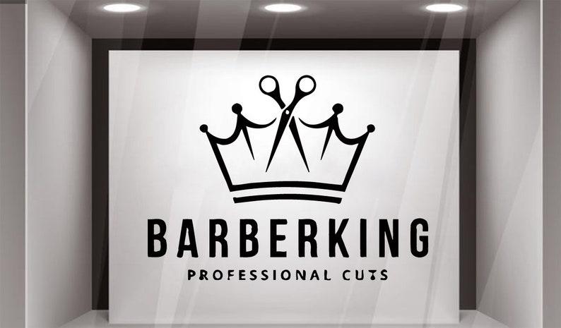 Barber Shop, Wall Sticker, Barber Shop, Vinyl, Decal, Salon Vinyl Decals,  Wall Vinyl Decor, Make Up, Shop Decor GF566