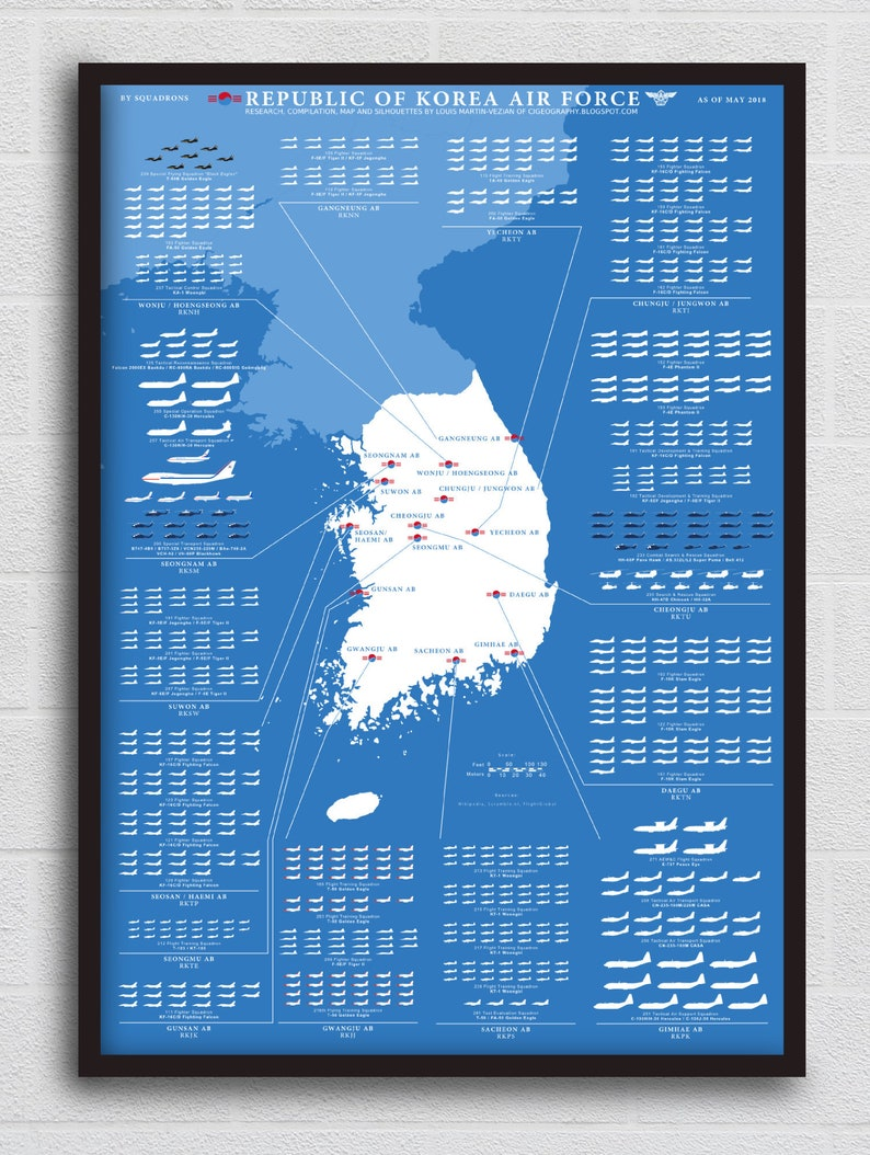 The Republic of Korea Air Force Infographic image 0