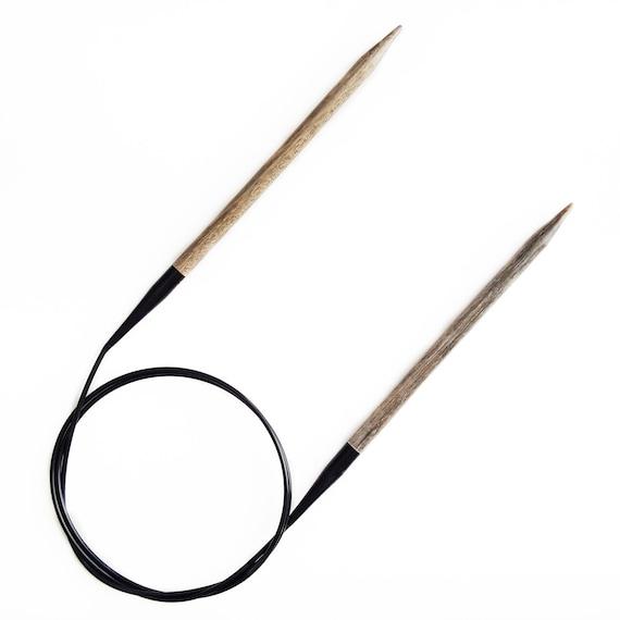 Lykke Aiguilles /à tricoter circulaires en bois flott/é 40,6/cm Size 0