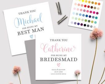 Wedding Thank You Cards Etsy Uk