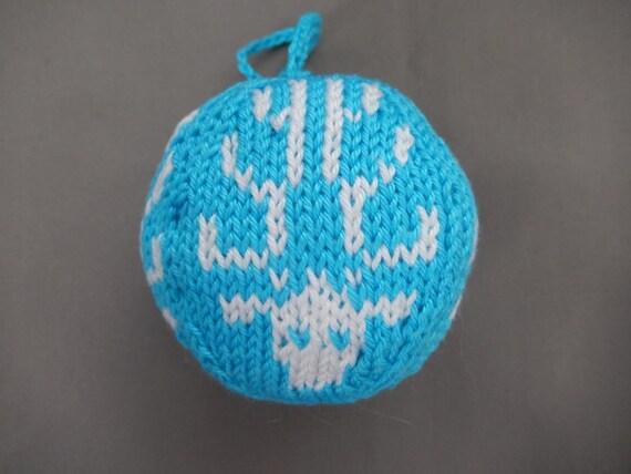 Set Kerstballen Gebreid Lichtgewicht Kerst Decoratie Etsy