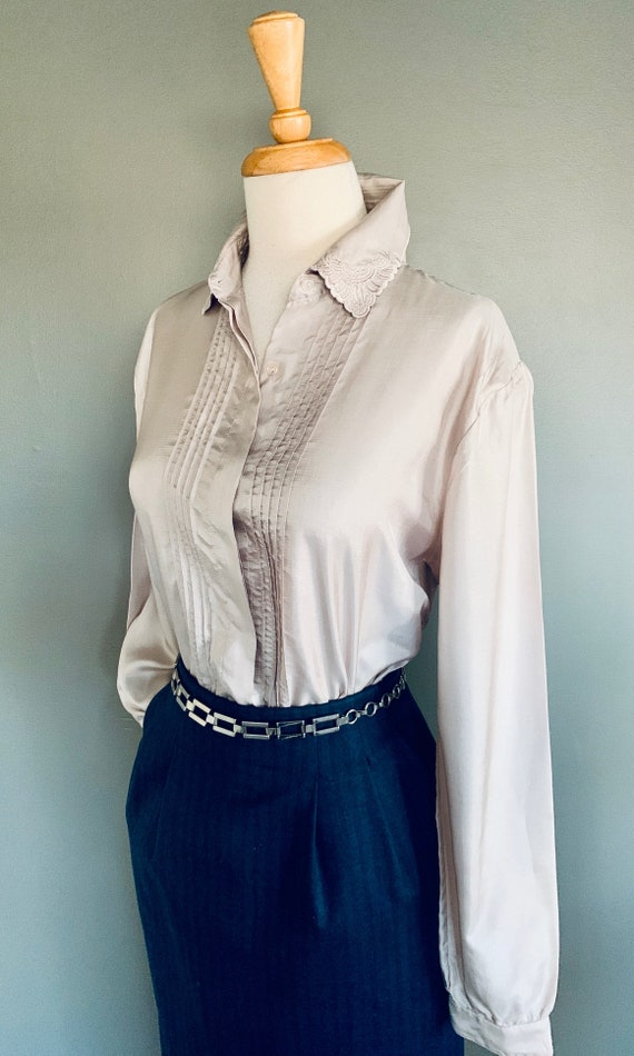 80s blouse/ 1980s blouse/ Vintage blouse/80's blo… - image 3