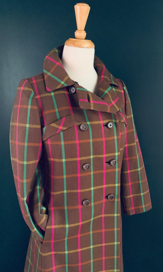 1960s Coat Vintage 60s  coat Boho  1960s Princess… - image 8