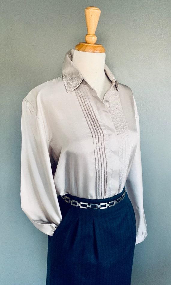 80s blouse/ 1980s blouse/ Vintage blouse/80's blo… - image 2