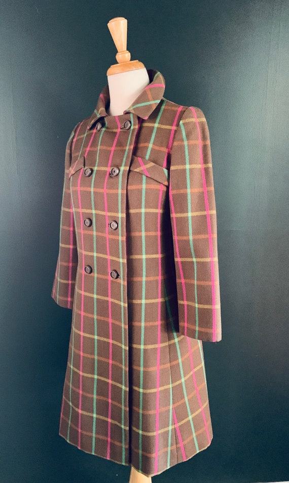 1960s Coat Vintage 60s  coat Boho  1960s Princess… - image 4