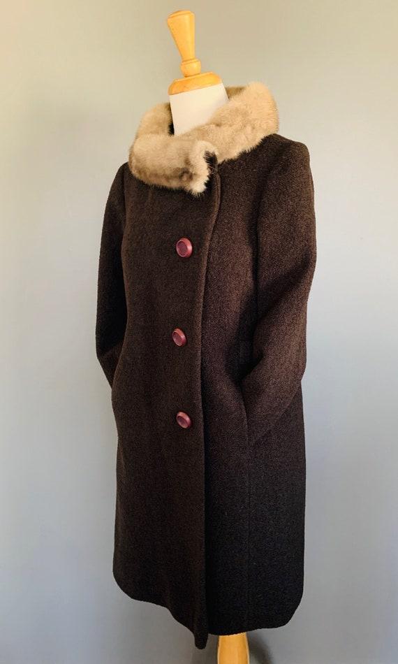 1960s Coat/ Vintage coats women/60's coat/1960's … - image 9