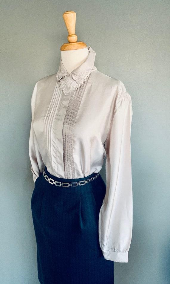 80s blouse/ 1980s blouse/ Vintage blouse/80's blo… - image 10