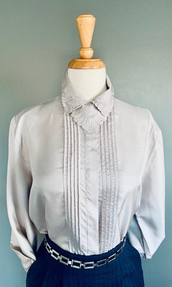 80s blouse/ 1980s blouse/ Vintage blouse/80's blo… - image 8