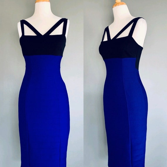 Vintage dress  Y2K dress  Bodycon dress  Bandage d