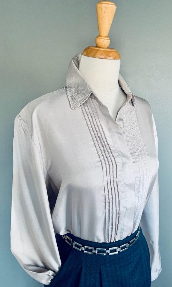 80s blouse/ 1980s blouse/ Vintage blouse/80's blo… - image 7