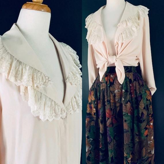 Vintage  blouse Vintage70s blouse  1970s blouse  B